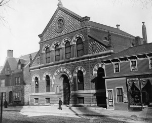 Image of Baxter Building, ca. 1890