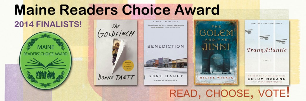 maine reader's choice award