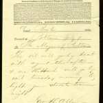 Telegram sent from Boston's Lamp Department to the Mayor of Portland