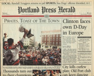 Press Herald June 2 1994 SM