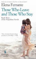 those who leave