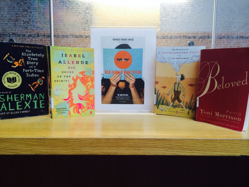 Books by Sherman Alexie, Isabel Allende, Mark Twain, and Toni Morrison at PPL.