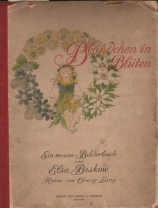 Blondchen en Bluten  by Georg Lang, published 1908.