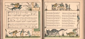 Walter Crane was one of the first to experiment with color in children's books. He liked to sketch animals as a child.