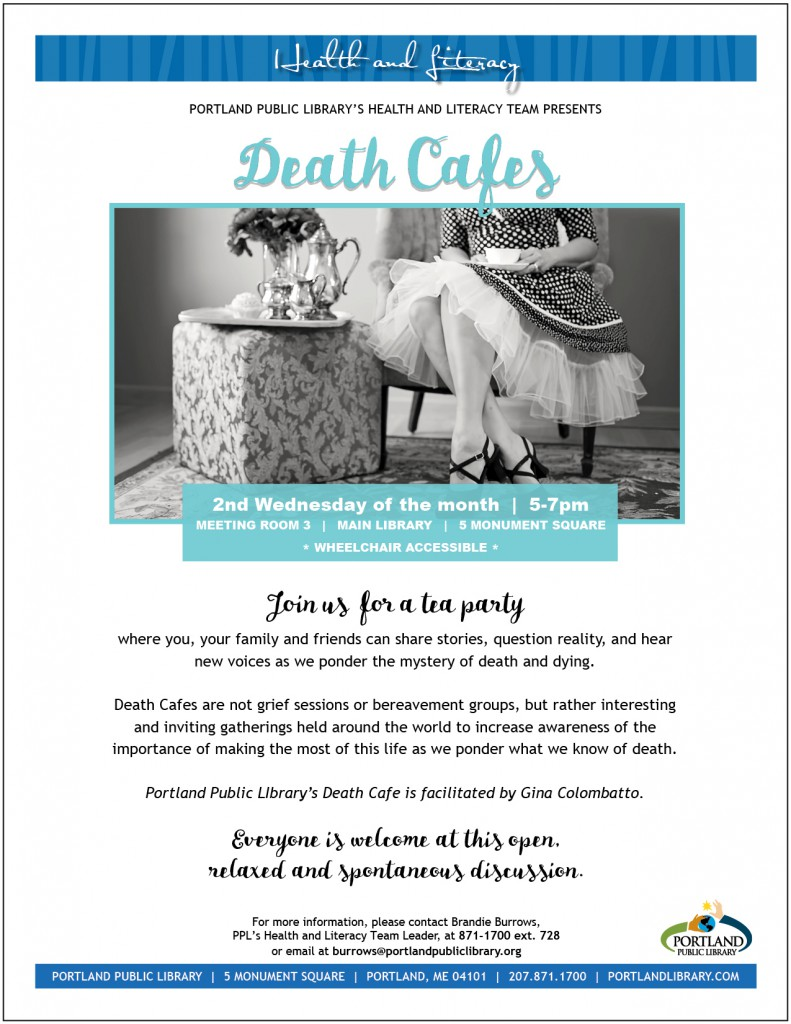 Death Cafes ongoing
