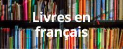 books in french. livres en francais