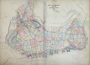 Goodwin Atlas of Portland, 1882: plates