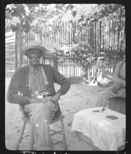 Photo of Uncle Billy McCrew, freed slave