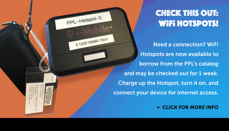 images and description of the WiFi hotspot units available at PPL