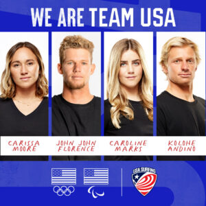 USA Olympic Surfing team