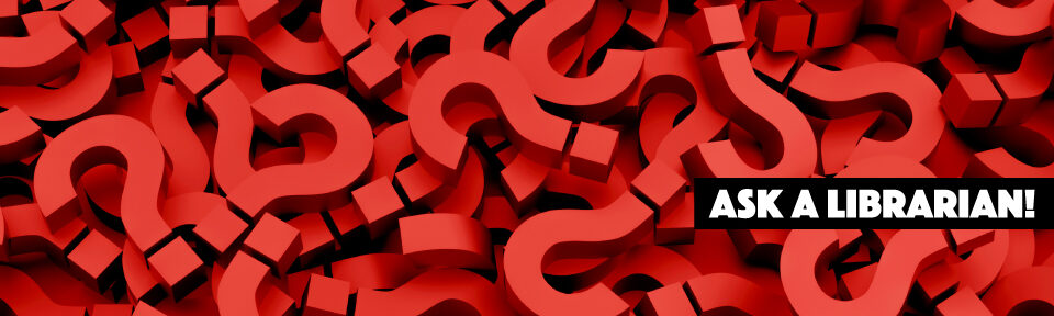 a pile of red 3D question marks